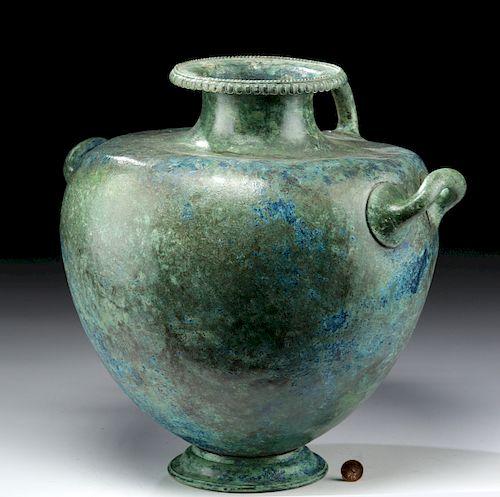 Important Greek Bronze Hydria