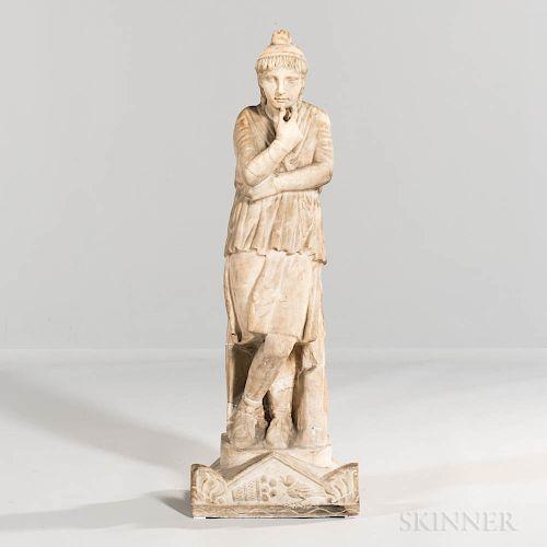 Roman Marble Sculpture of Attis