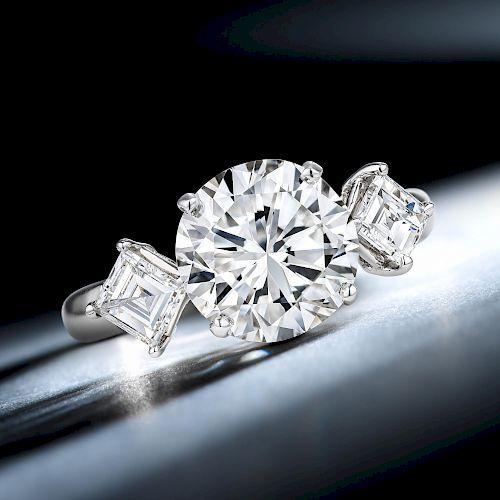 A 2.92-Carat Diamond Ring