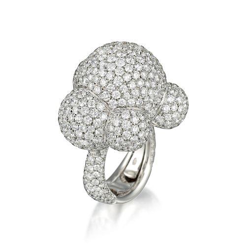 Palmiero Bubbles Diamond Ring