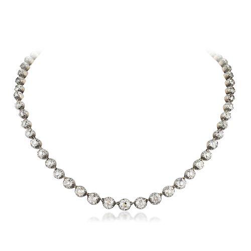Victorian Riviera Diamond Necklace