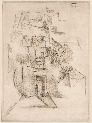 """Pablo Picasso (1881-1973) """"Le Couvent"""""""