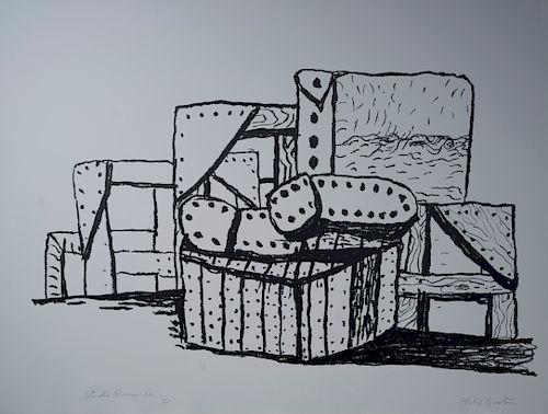 Philip Guston - Studio Forms