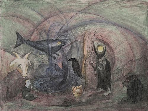 Leonora Carrington - Crow Soup