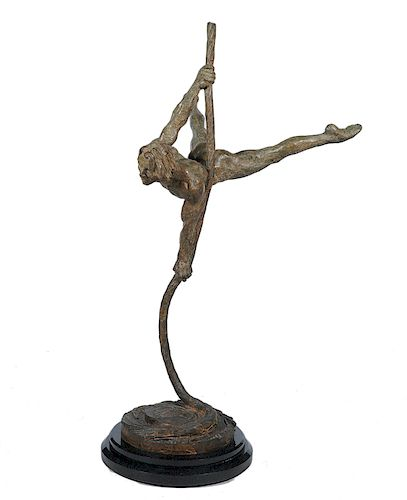 Large Richard MacDonald 'Sasha' Bronze Figure