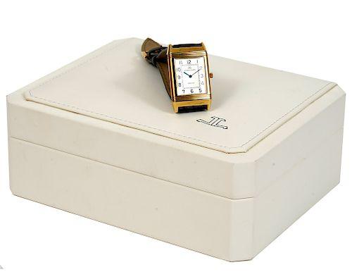 Men's Jaeger-LeCoultre Reverso 18kt Gold Watch