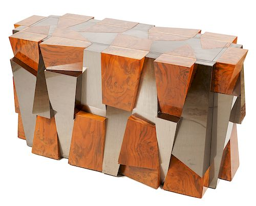 Paul Evans Cityscape Faceted Dining Table