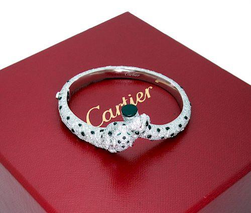 Panthère de Cartier Bracelet 18K 833 Brilliant Diamonds