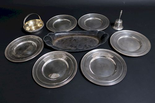 Group of Sterling Silver Dishes
