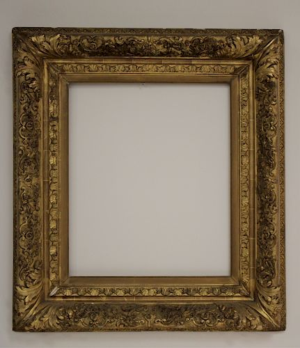 Ornately Decorated Giltwood Picture Frame 19th c.