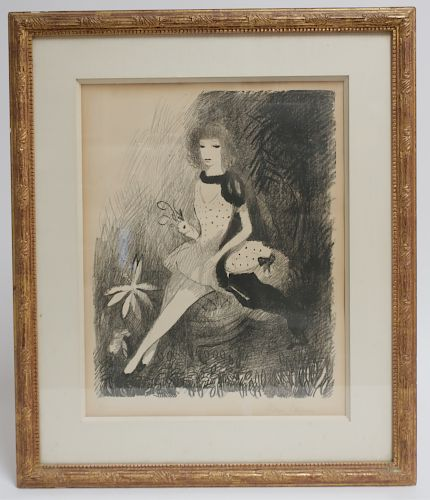 Marie Laurencin 1883-1956 Lithograph or Woodcut