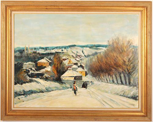 J. DeKobra, Winter in France, O/C