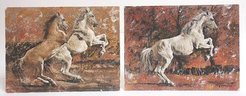 Luigi Tarquini, 20th C., 2 Works,O/B