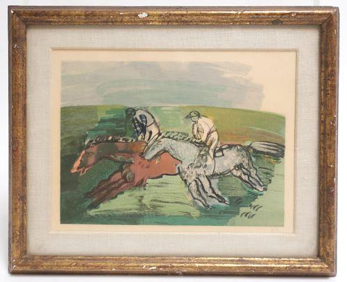 Raoul Dufy 1877-1953 Color Wood Engraving