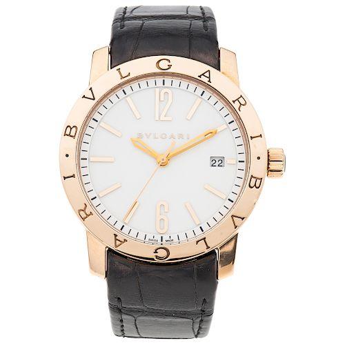 BVLGARI REF. BB P 39 G. wristwatch.