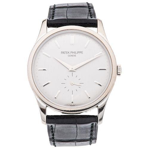 PATEK PHILIPPE CALATRAVA REF. 5196. wristwatch.