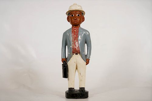 "Baule Style Colonia Figure 19"""