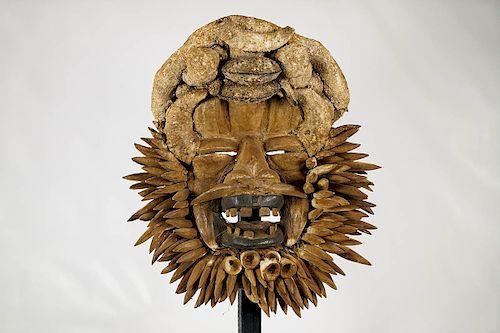 """Guere War Mask 20"""""""