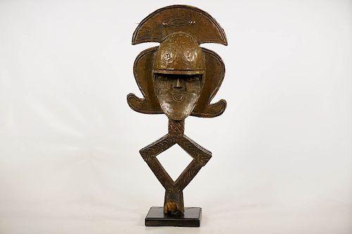 """Kota Janus Reliquary Figure on Base 24"""""""