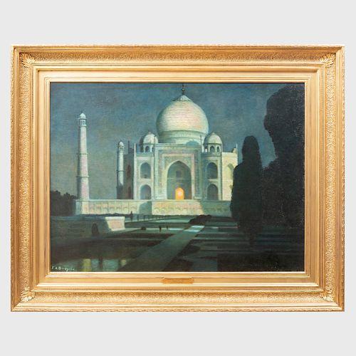 Frederick Bridgeman (1847-1928): The Taj Mahal