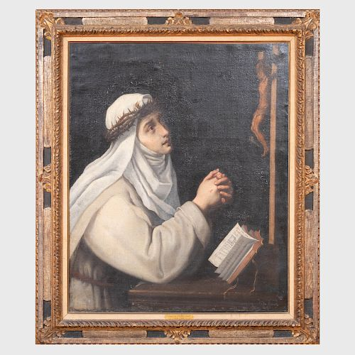 Circle of Cristofano Allori (1577-1621): St. Catherine of Siena