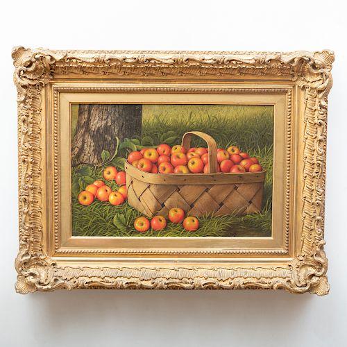 Levi Wells Prentice (1851-1935): Basket of Apples
