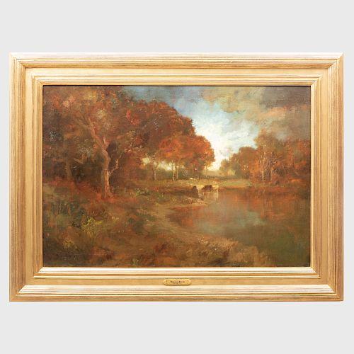 William Keith (1838-1911): Autumn Landscape