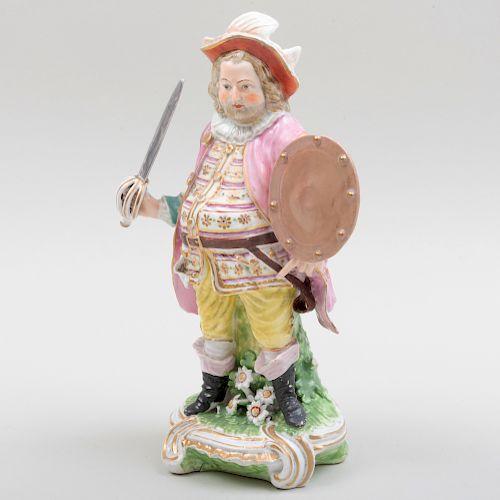Derby Porcleain Figure of Falstaff