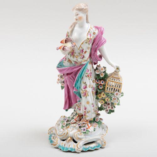 Derby Porcelain Figure Emblematic of Love