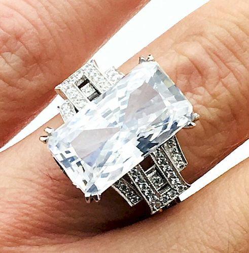 Ivanka Trump Platinum With Diamond Engagement Ring