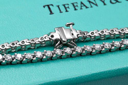 Tiffany & Co Tiffany 3.08TCW Victoria Line Diamond