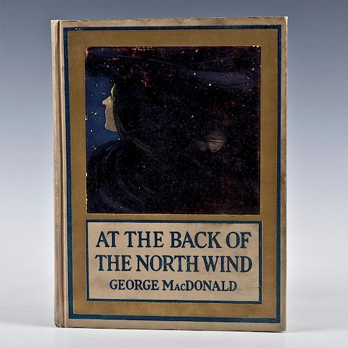 AT THE BACK OF THE NORTH WIND BOOK BY GEORGE MACDONALD