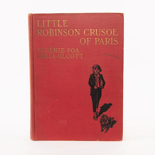 LITTLE ROBINSON CRUSOE OF PARIS BOOK BY JULIA OLCOTT