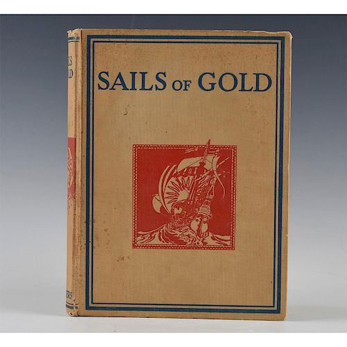 BOOK, SAILS OF GOLD LADY ASQUITH INCLUDES A.A. MILNE TIGGER STORY
