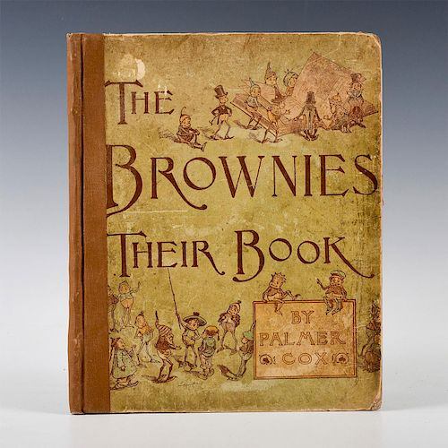 THE BROWNIES, THEIR BOOK BY PALMER COX