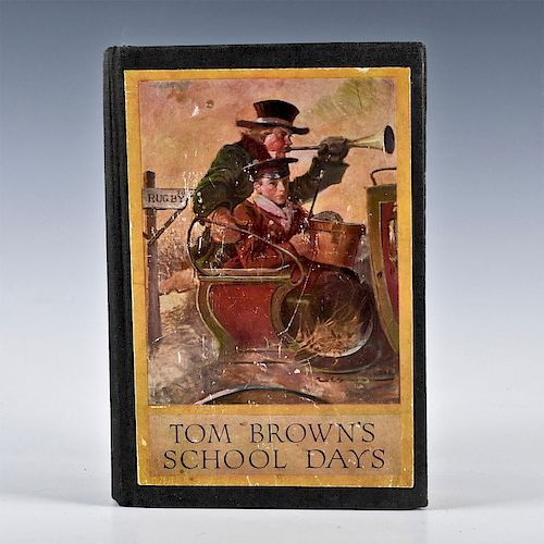 TOM BROWN'S SCHOOL DAYS BOOK ILLUSTRATED BY LOUIS RHEAD