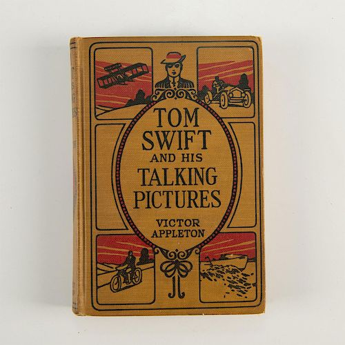 TOM SWIFT AND HIS TALKING PICTURES BOOK BY VICTOR APPLETON