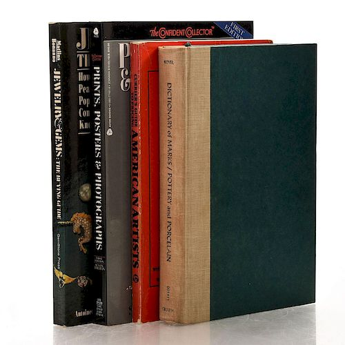 4 ASSORTED ART AND ANTIQUES REFERENCE BOOKS