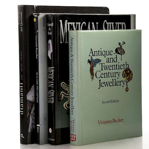 4 BOOKS, VARIOUS JEWELRY SUBJECTS
