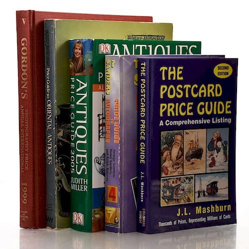 5 BOOKS VARIOUS MISCELLANEOUS PRICE GUIDES
