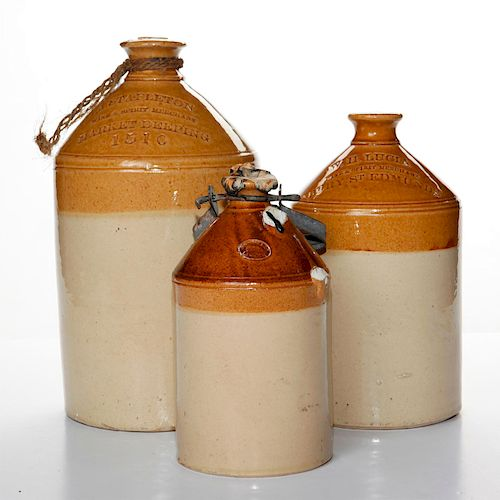 DOULTON LAMBETH WINE & SPIRIT MERCHANT JUGS
