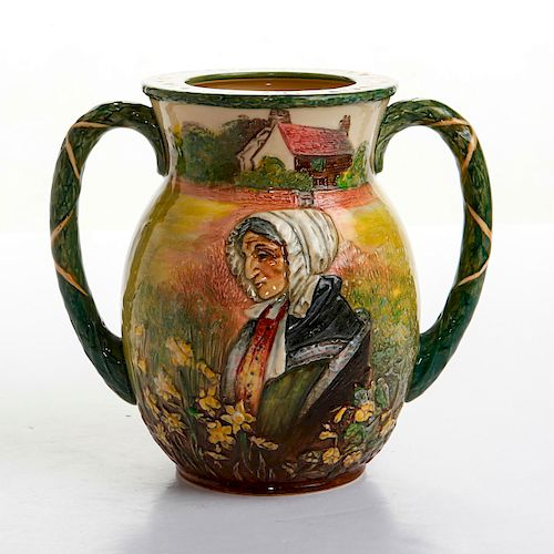 ROYAL DOULTON WILLIAM WORDSWORTH LOVING CUP BY NOKE