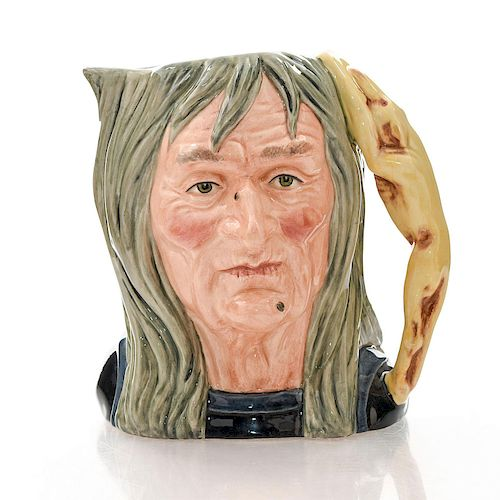 ROYAL DOULTON LG CHARACTER JUG, PENDLE WITCH D6826