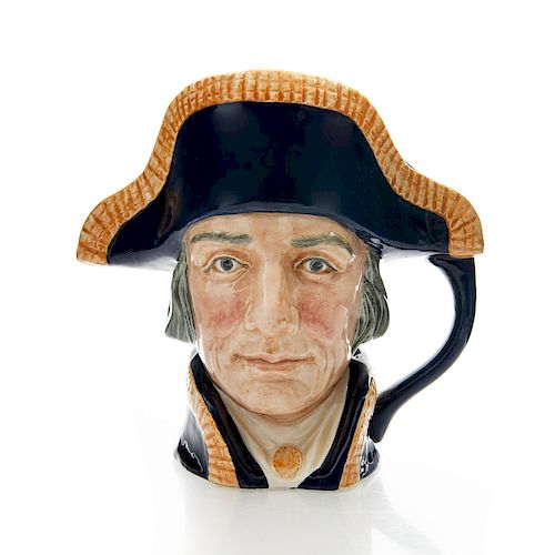 ROYAL DOULTON LARGE CHARACTER JUG, LORD NELSON D6336