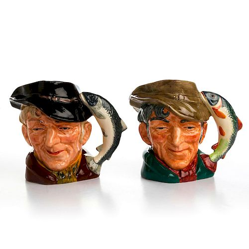 2 LG ROYAL DOULTON THE POACHER CHARACTER JUGS