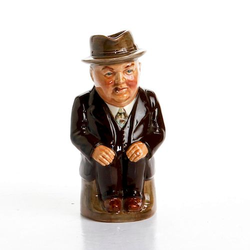 ROYAL DOULTON SMALL CLIFF CORNELL TOBY JUG