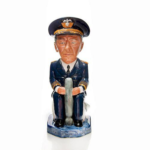 WILKINSON WW2 LEADERS TOBY JUG, ADMIRAL CHESTER NIMITZ