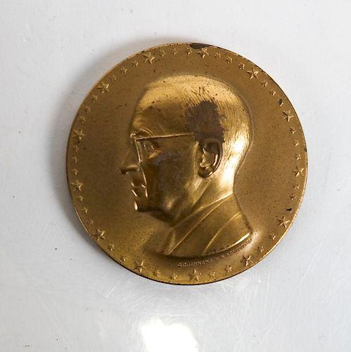 Harry S. Truman Inaugural Medal, 1949