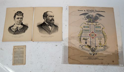 James A. Garfield 1880 Campaign Broadside, Other
