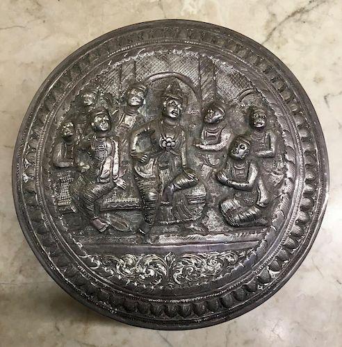 Burmese Silver  Box